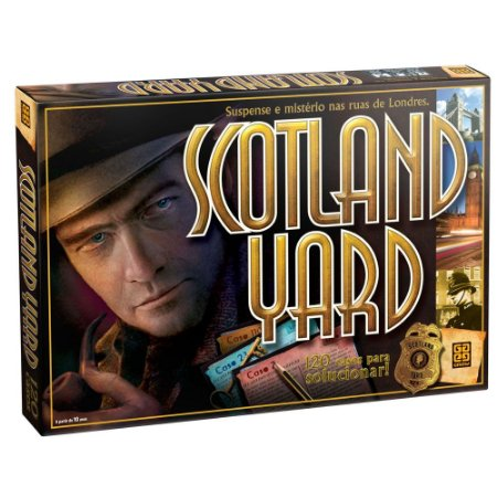 Jogo Scotland Yard Grow - 01730 Tipo Detetive