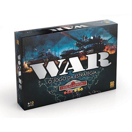Jogo War Edição Especial Pack - Grow 1253