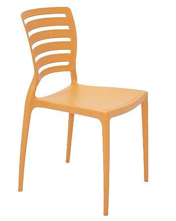 Cadeira Sofia Laranja Horizontal Tramontina 92237/090