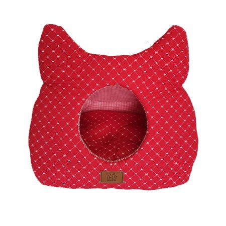 Toca Gato Fabrica Pet Vermelha