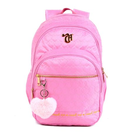 Mochila G Capricho Love Pink - Dmw 11356