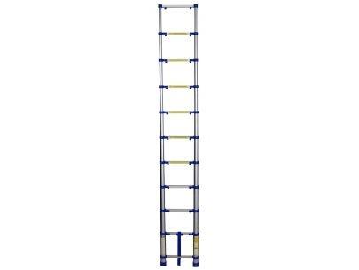 Escada Telescópica Alumínio 10 degraus 3,12m - Mor