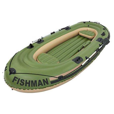 Barco Fishman 400 com Remo e Inflador