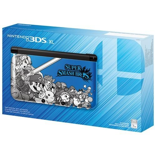 Nintendo 3DS XL Super Smash Bros Blue Edition