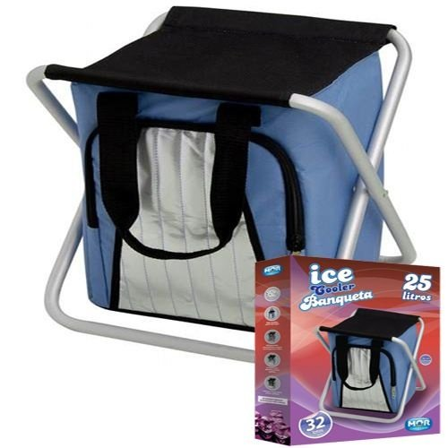 Bolsa Térmica e Banqueta Ice Cooler 25L