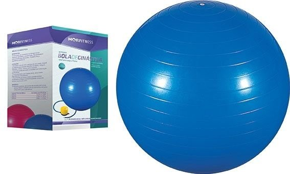 Bola para Pilates 75cm Azul