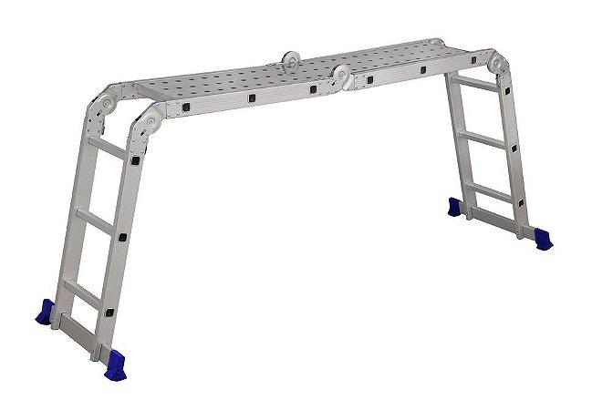 Escada Multifuncional 4x3 com Plataforma - MOR