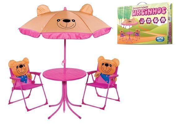 Conjunto Infantil 4 Peças Ursinhos