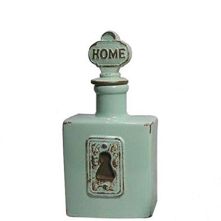 Garrafa Decor Ceramica Le Cle Home Verde (25782)
