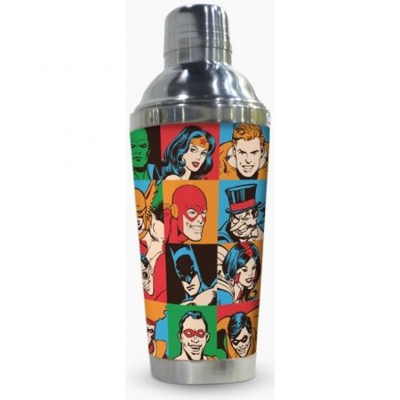 Coqueteleira DC Comics Faces Patchwork 500ml (25560)