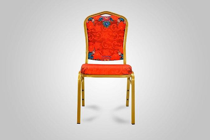 Cadeira Pin Up Vermelha - Trevisan