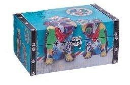 Caixa Cachorro Colorido P Trevisan