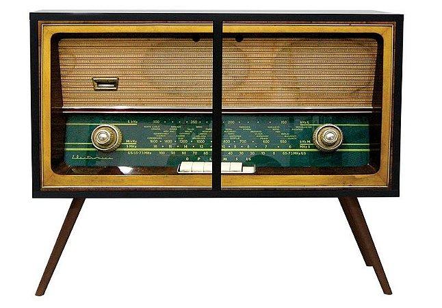 Armário Horizontal com 2 Porta Estampa Rádio (0118-0677)