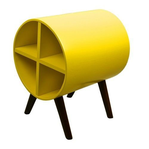 Adega Porta Vinhos Amarela (1007-0000)