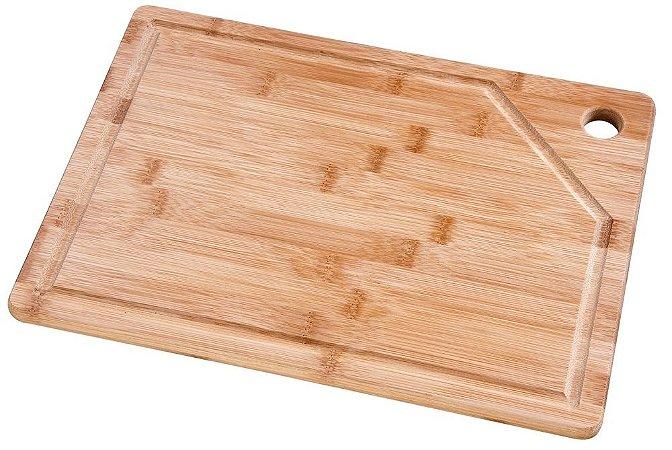 Tábua Retângular 35cm x 25cm Bamboo