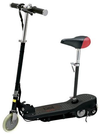 Patinete Eletrico Bel Sports Preto Com Assento - E-Scooter