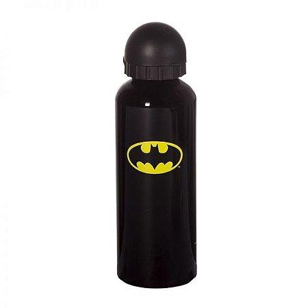 Squeeze Alumínio Logo Batman Preto e Amarelo 500ml (23841)