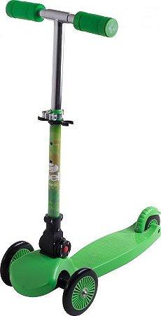 Patinete Infantil com 3 rodas - Tech Verde