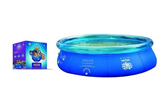 Piscina Redonda 3.400l Inflavel Splash Fun Mor 2,70x0,70