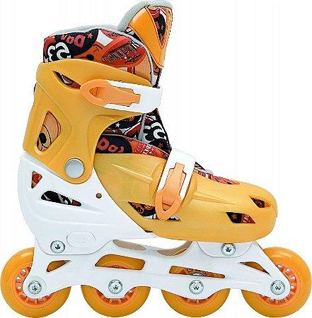 Inline Rollers Kids -  Laranja  (M 32-35)