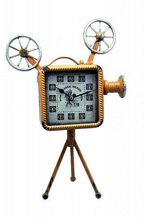 Relógio Decorativo de Mesa Camera (RE436)