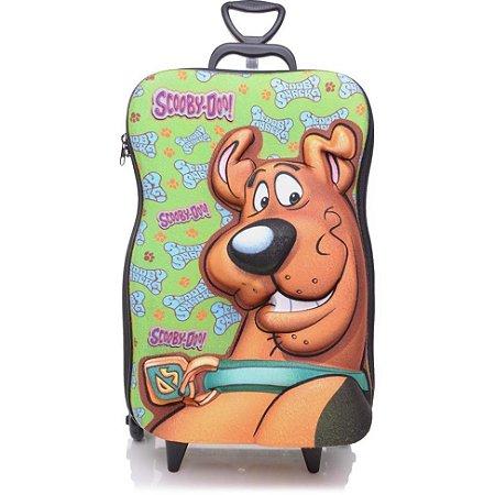 Mochila de Rodinha Mochilete 3D Escolar + Lancheira Hanna Barbera Scooby Doo
