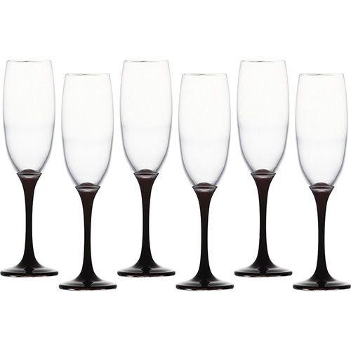 Jogo de Taças Venue Opak 220ml para Champagne 6 Peças