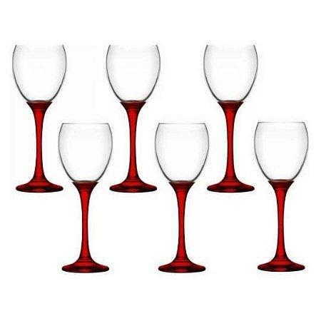Jogo de Taças Venue Red 245ml para Vinho 6 Peças