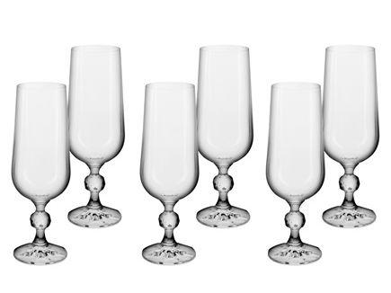 Jogo de Taças Klaudie 6 peças para Champagne 180ml