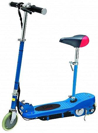 Patinete Eletrico Bel Sports Azul Com Assento - E-Scooter
