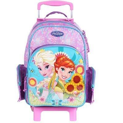 Mochila de Rodinhas Mochilete Escolar Grande Disney Frozen (60234)