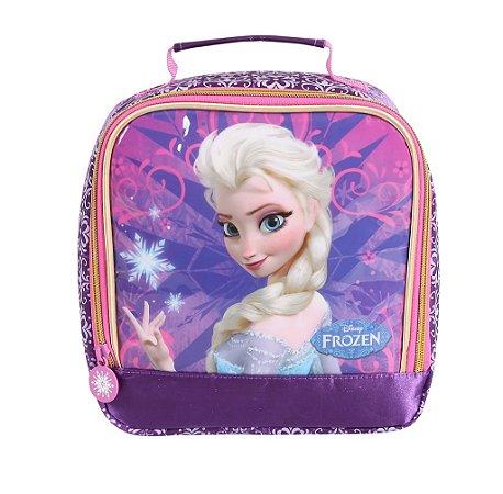 Lancheira Escolar Infantil Soft Disney Frozen Elsa (60208)