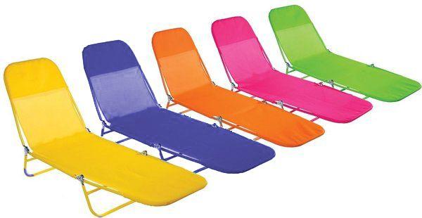 Cadeira Espreguiçadeira Dobrável Textilene Fashion