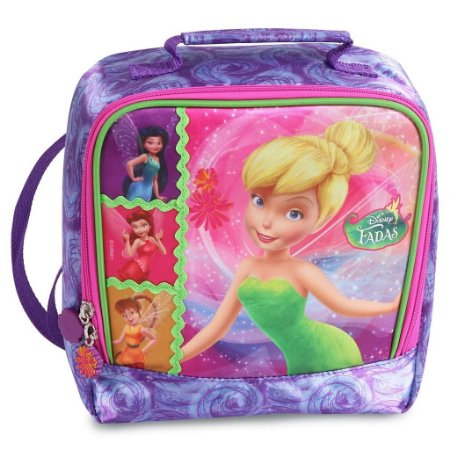 Lancheira Soft Infantil Disney Fadas Sininho (51457)