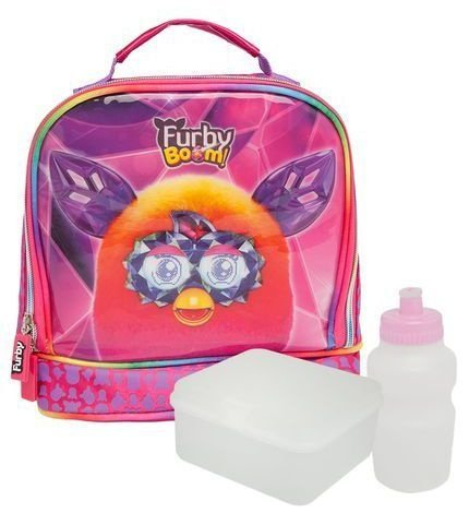 Lancheira Soft Infantil Hasbro Furby Boom (60238)