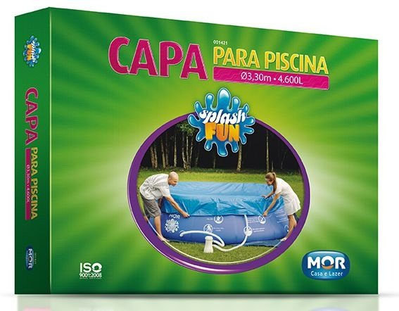 Capa para Piscina Splash Fun 4.600L