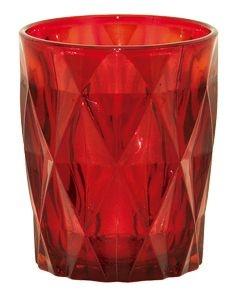 Copos Drink Vitral Verre Vermelho