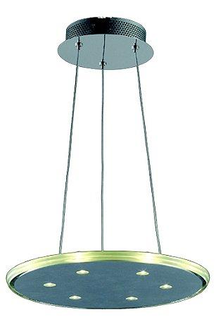 Pendente em Aço Luz de Led  (KL017L) 46cm