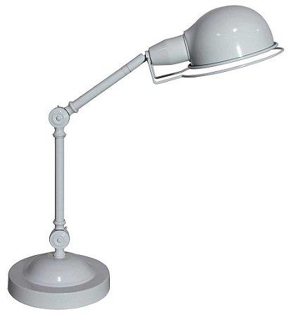 Luminária de Mesa Articulada Branca (LU003C)