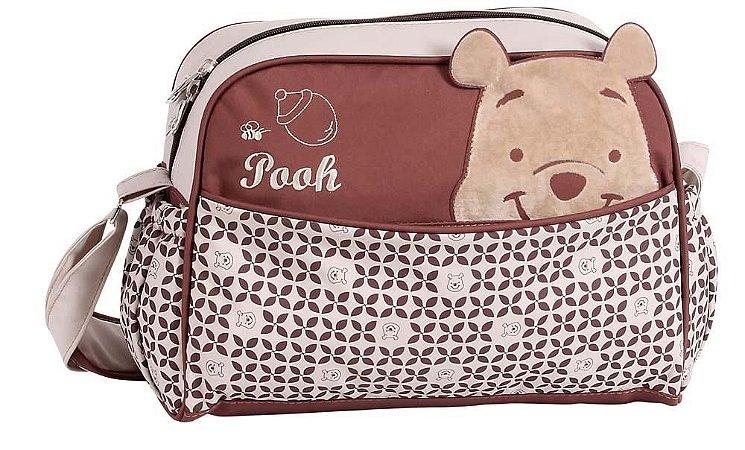 Bolsa Maternidade com Trocador Baby Go Ursinho Pooh (2197)