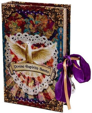 Caixa Livro Decorativa Divino Espirito Santo (4479)