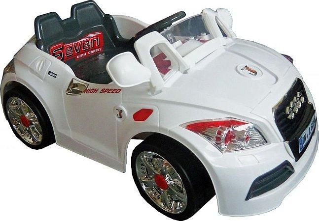 Carro Elétrico Infantil Esporte Branco 6V (924700)