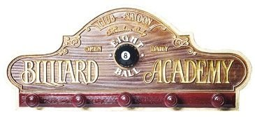 Placa Decorativa Beer Ales Billiard Cabideiro Whisky