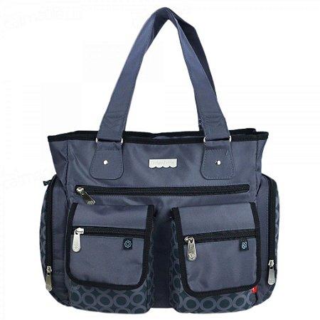 Bolsa Maternidade Baby Bag Mom Trended 2 Bolsos Frontais (1173)