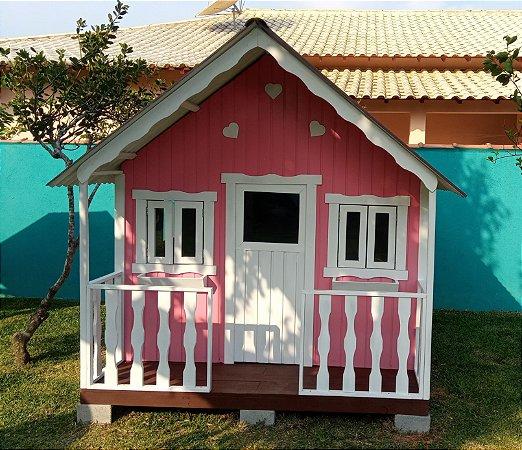 Casinha de madeira - Premium - (Autoclavada) - Extra Grande.