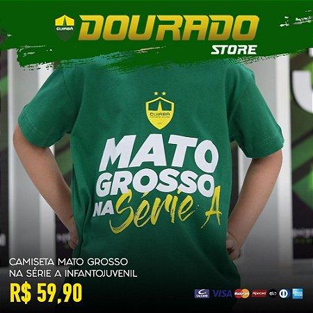 Camiseta Mato Grosso na Série A Infantojuvenil