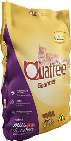 Quatree Gourmet Gatos Adultos Mix de Carnes 20kg