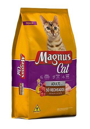 Magnus Cat Premium Gatos Adultos Só Recheados  15kg