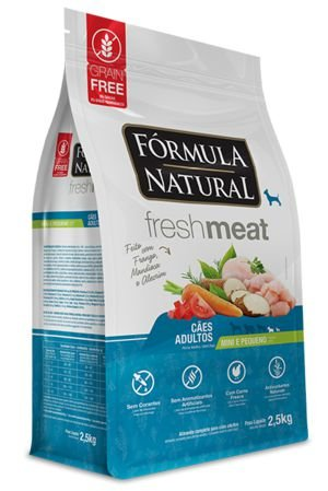Fórmula Natural Fresh Meat Adulto Peq. Porte 1kg