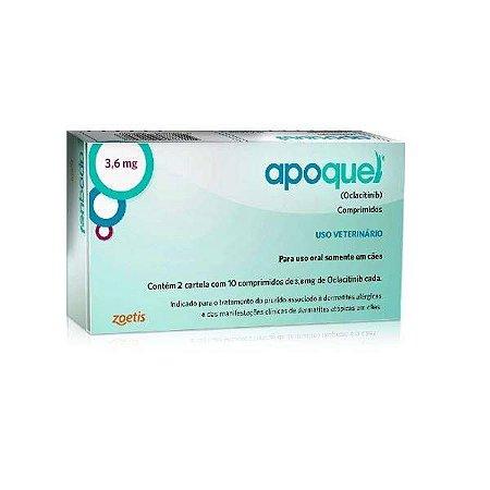 Apoquel 3,6mg - 20 comprimidos